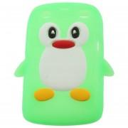 Funda de silicona 3D Penguin Shape para Blackberry 9360/9350/9370 / Curve