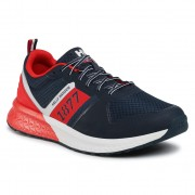 Сникърси HELLY HANSEN - Alby 1877 Low 11621_597 Navy/Off White/Alert Red