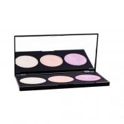 Makeup Revolution London Highlighting Powder Palette 15 g paleta 3 rozjasňovačov pre ženy