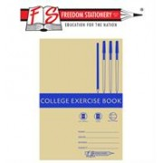 Freedom A4 Feint and Margin College Exercise Book