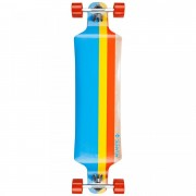 Skate Atlantic Drop Down Titan bleu cu galben si rosu