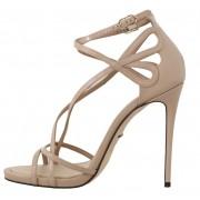 Dolce & Gabbana magassarkú cipő drapp