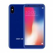 """Doogee X55 5.5"""" pantalla completa IPS HD android 7.1 telefono 3G con 1 GB de RAM? 16 GB ROM - azul"""