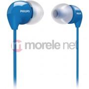 Casti intraauriculare Philips SHE3590BL/10, albastru