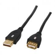 Hoge kwaliteit vergulde USB 2.0 verlengkabel [1.8/3m]