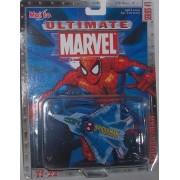 Maisto Ultimate Marvel Air Force Spider-Man YF-22 Fighter Airplane Diecast Spiderman Plane