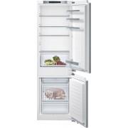 Siemens KI86NVF30G Static Integrated Fridge Freezer - White