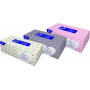 LINTEO kapesníčky v krabičce 2-V SOFT a CLEAN 200ks