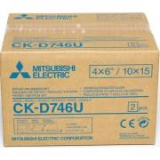 MITSUBISHI Papel CK D746-U 10x15cm (2x400 Vistas)