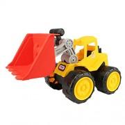 Generic Push Around Sand Truck Model Beach Toy for Kids-Bulldozer