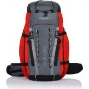 Suntop Trek 65L (with Internal Frame) Travel Bag Backpacking Backpack for Outdoor Hiking Trekking Camping Rucksack(Red) Rucksack - 65 L(Red)