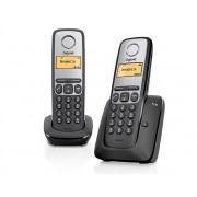 Unknown Gigaset A130 - Duo DECT telefoon - Zwart Huistelefoon alleen geschikt voor een Belgische telefoonaan