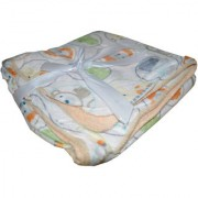 Toys Factory Printed Hooded Baby Wrapper/ Blanket For Newborns and Infants
