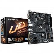 MB Gigabyte B460M DS3H, LGA 1200, micro ATX, 4x DDR4, Intel B460, 36mj