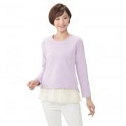 AN アネラ発!レースペプラムが着脱可能なプルオーバー【QVC】40代・50代レディースファッション