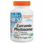 Doctors Best Curcumin Phytosome with Meriva 500 mg (60 Veggie Caps) - Doctor's Best