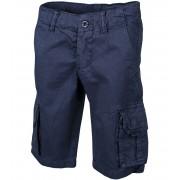 ALPINE PRO BLUEBELLO Dětské šortky KPAG064602 mood indigo 152-158