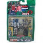 G.I. Joe SPY TROOPS Desert Cobra C.L.A.W.S. and Sand Viper Troop Builders