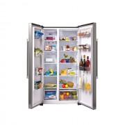 Side by side Candy CXSN 172 IXH, No Frost, 503 L, Display extern, Alarma usa, Sertar fructe/legume, Clasa A+, Inox