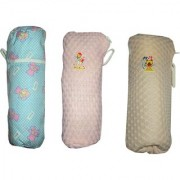AH Baby Milk Feeding Bottle Cover For Baby 250 ML Soft Fabric Combo Of 3 Pcs Cover - Multicolor - ( 22x10 cm )