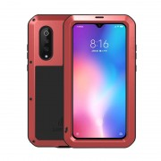 LOVE MEI Shockproof Dropproof Dustproof Case for Xiaomi Mi 9 - Red