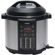 Multicooker Heinner HPCK-6IX, Timer, 14 programe, Display LED, Gatire aburi/sub presiune, 1000W (Negru/Gri)