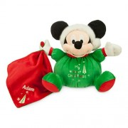 Disney Santa Mickey Mouse My First Christmas Plush for Baby