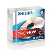 DVD-RW 4.7GB Jewelcase, 4x, PHILIPS