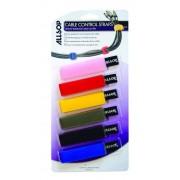 Kabelband Kardborre 6-pack. Hopbuntning av kablar