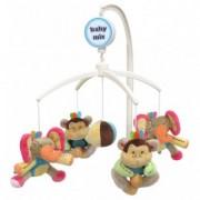 Carusel Muzical Pentru Patut Calm Baby - Elephant