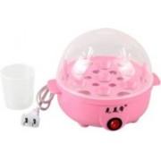 PHOLOR Electronic egg boiler Electric Boiler Steamer Poacher Egg Cooker km_196 Egg Cooker KT 99 Egg Cooker(Pink, 7 Eggs)