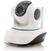Wireless HD IP Wifi CCTV indoor Security Camera (White Color)