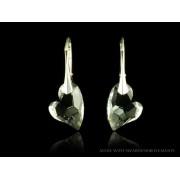 DEVOTED stříbrné náušnice Crystal