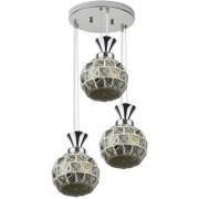 LeArc Designer Lighting Marble Look Pendent HL4021-3
