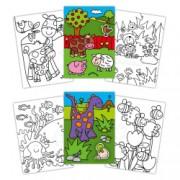 Galt Early Activities Prima carte de colorat cu abtibilduri