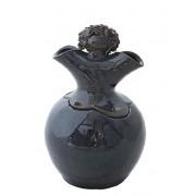 Keramische Vaas Urn Saffier (1.5 liter)