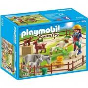 Tarc cu animale de la ferma Playmobil