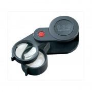 Eschenbach Magnifying glass 3X+6X folding magnifier, achromatic
