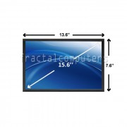Display Laptop Toshiba SATELLITE C650 PSC12C-02800S 15.6 inch 1366 x 768 WXGA HD LED