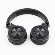 Vezeték nélküli Bluetooth sztereó headset mikrofonnal fejhallgató Mp3, TF/MicroSD Slot, FM Rádió,3,5mm jack - P19