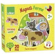 Vilac fa mágnesek Farm 20 db
