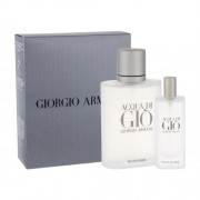 Giorgio Armani Acqua di Giò Pour Homme darčeková kazeta pre mužov toaletná voda 100 ml + toaletná voda 15 ml