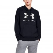 Under Armour Felpa Rival Fleece Sportstyle Graphic Nero Da Donna - XS - Donna