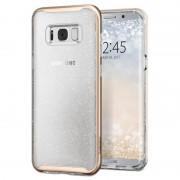 Capa Spigen Neo Hybrid Crystal Glitter para Samsung Galaxy S8+ - Dourado