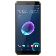 "Telefon Mobil HTC Desire 12 Plus, Procesor Octa-Core 1.8GHz, LCD IPS Capacitive Touchscreen 6"", 3GB RAM, 32GB Flash, Camera Duala 13+2MP, 4G, Wi-Fi, Dual Sim, Android (Auriu) + Cartela SIM Orange PrePay, 6 euro credit, 6 GB internet 4G, 2,000 minute natio"