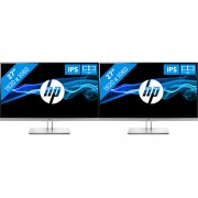 HP EliteDisplay E273 dual monitor setup