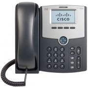 Phone, Cisco SPA512G, 1-Line, IP Phone with Display, PoE and Gigabit PC Port