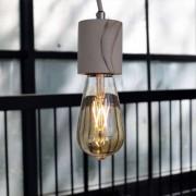 Kosiluz Lámpara de techo simple de marmól y cemento - Atlas
