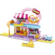 Set de joaca Zuru Hamster cu supermarket, sine si accesorii