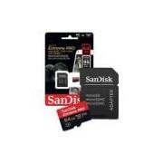 Cartão De Memoria 64gb Micro Sd Cl10 Extreme Pro 95mb/s Sdsqxxg-064g Sandisk Extreme